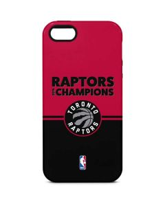 2019 Champions Toronto Raptors iPhone 5/5s/SE Pro Case