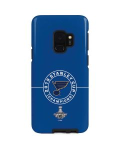 2019 Stanley Cup Champions Blues Galaxy S9 Pro Case
