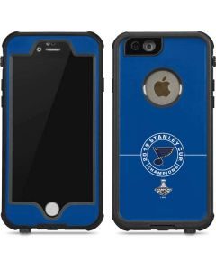 2019 Stanley Cup Champions Blues iPhone 6/6s Waterproof Case