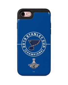 2019 Stanley Cup Champions Blues iPhone 8 Wallet Case