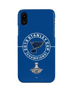 2019 Stanley Cup Champions Blues iPhone XR Lite Case