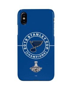 2019 Stanley Cup Champions Blues iPhone XS Max Lite Case