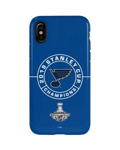 2019 Stanley Cup Champions Blues iPhone XS Max Pro Case