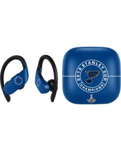 2019 Stanley Cup Champions Blues PowerBeats Pro Skin