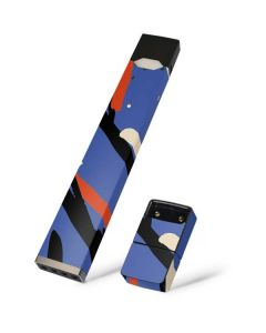 Abstract Lines Juul E-Cigarette Skin