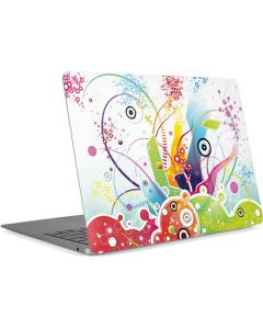 Abstraction White Apple MacBook Air Skin