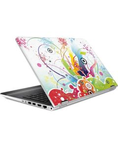 Abstraction White HP Pavilion Skin