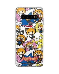 Aggretsuko Blast Galaxy S10 Plus Skin