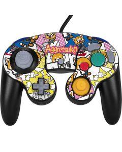 Aggretsuko Blast Nintendo GameCube Controller Skin