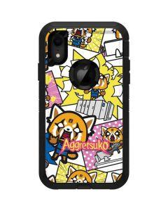 Aggretsuko Blast Otterbox Defender iPhone Skin