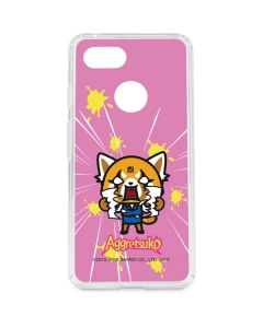 Aggretsuko Breaking Point Google Pixel 3 Clear Case