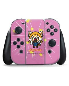 Aggretsuko Breaking Point Nintendo Switch Joy Con Controller Skin