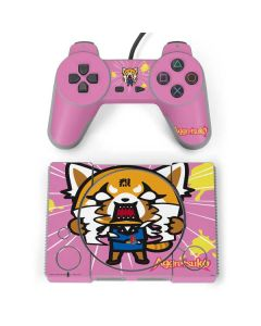 Aggretsuko Breaking Point PlayStation Classic Bundle Skin