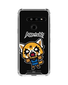 Aggretsuko Fed Up LG G8 ThinQ Clear Case