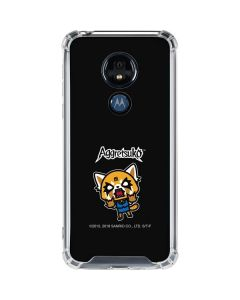 Aggretsuko Fed Up Moto G7 Power Clear Case