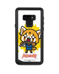 Aggretsuko Karaoke Queen Galaxy Note 9 Waterproof Case