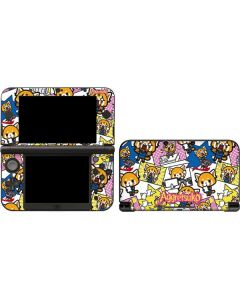 Aggretsuko Blast 3DS XL 2015 Skin