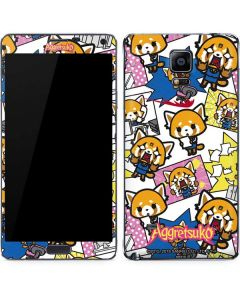 Aggretsuko Blast Galaxy Note 4 Skin