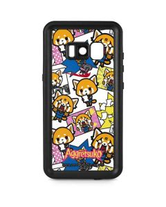 Aggretsuko Blast Galaxy S8 Waterproof Case