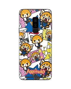 Aggretsuko Blast Galaxy S9 Plus Skin