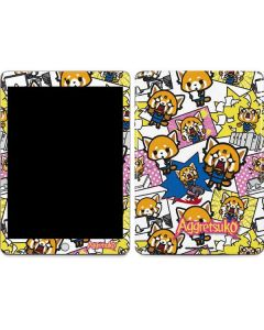 Aggretsuko Blast Apple iPad Skin