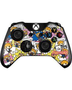 Aggretsuko Blast Xbox One Controller Skin