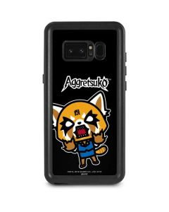 Aggretsuko Fed Up Galaxy Note 8 Waterproof Case
