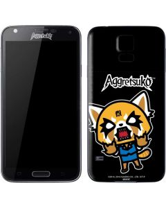 Aggretsuko Fed Up Galaxy S5 Skin
