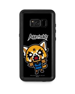 Aggretsuko Fed Up Galaxy S8 Plus Waterproof Case