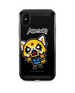 Aggretsuko Fed Up iPhone X Cargo Case