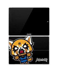 Aggretsuko Fed Up Surface Pro 3 Skin