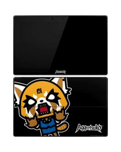 Aggretsuko Fed Up Surface Pro Tablet Skin