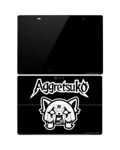 Aggretsuko Surface Pro 4 Skin