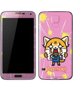 Aggretsuko Breaking Point Galaxy S5 Skin