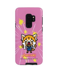 Aggretsuko Breaking Point Galaxy S9 Plus Pro Case