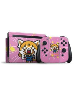 Aggretsuko Breaking Point Nintendo Switch Bundle Skin