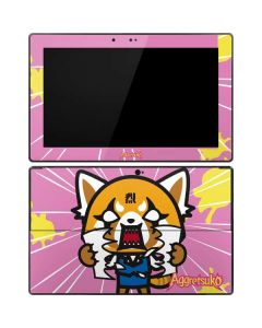 Aggretsuko Breaking Point Surface Pro Tablet Skin