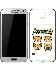 Aggretsuko Expressions Galaxy S5 Skin