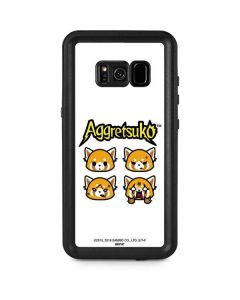 Aggretsuko Expressions Galaxy S8 Plus Waterproof Case
