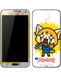 Aggretsuko Karaoke Queen Galaxy S5 Skin