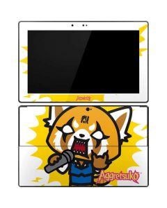 Aggretsuko Karaoke Queen Surface Pro Tablet Skin