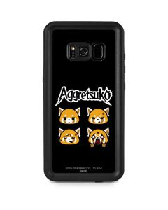 Aggretsuko Facial Expressions Galaxy S8 Plus Waterproof Case