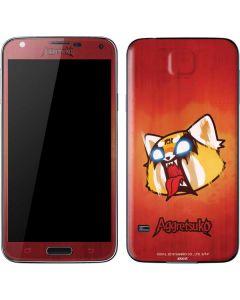 Aggretsuko Furious Galaxy S5 Skin