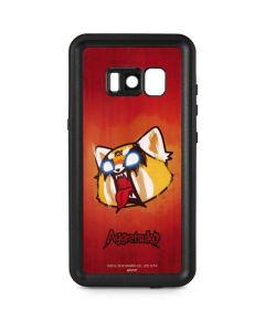Aggretsuko Furious Galaxy S8 Waterproof Case