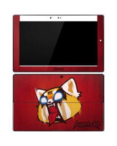 Aggretsuko Furious Surface Pro Tablet Skin