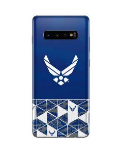 Air Force Symbol Galaxy S10 Plus Skin
