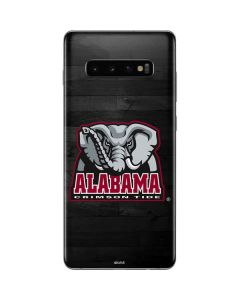 Alabama Basketball Wood Galaxy S10 Plus Skin