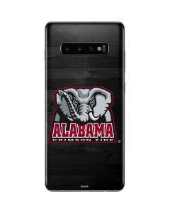 Alabama Basketball Wood Galaxy S10 Plus Skin