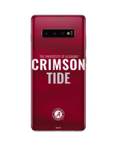 Alabama Crimson Pride Galaxy S10 Plus Skin