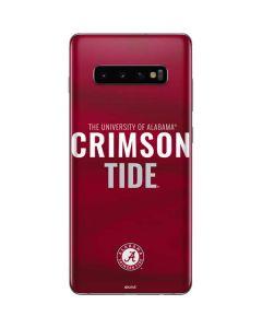 Alabama Crimson Pride Galaxy S10 Plus Skin
